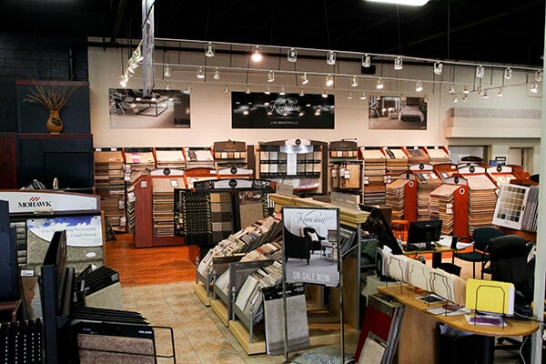 Showroom photo in Orland Park, IL from Sherlock's Carpet & Tile7