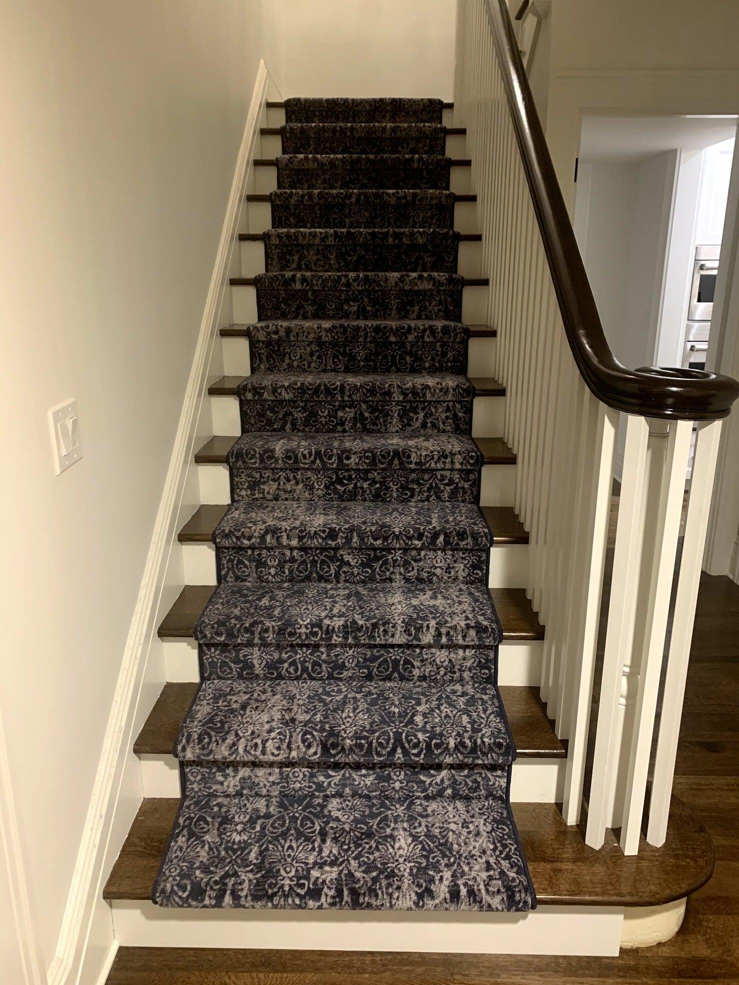 Carpet stair runner in Bellevue, WA from Vogel's Carpet & Flooring