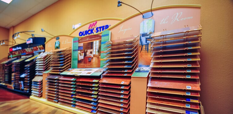Our Quick Step flooring collection at Daniel Flooring in Dania Beach, FL