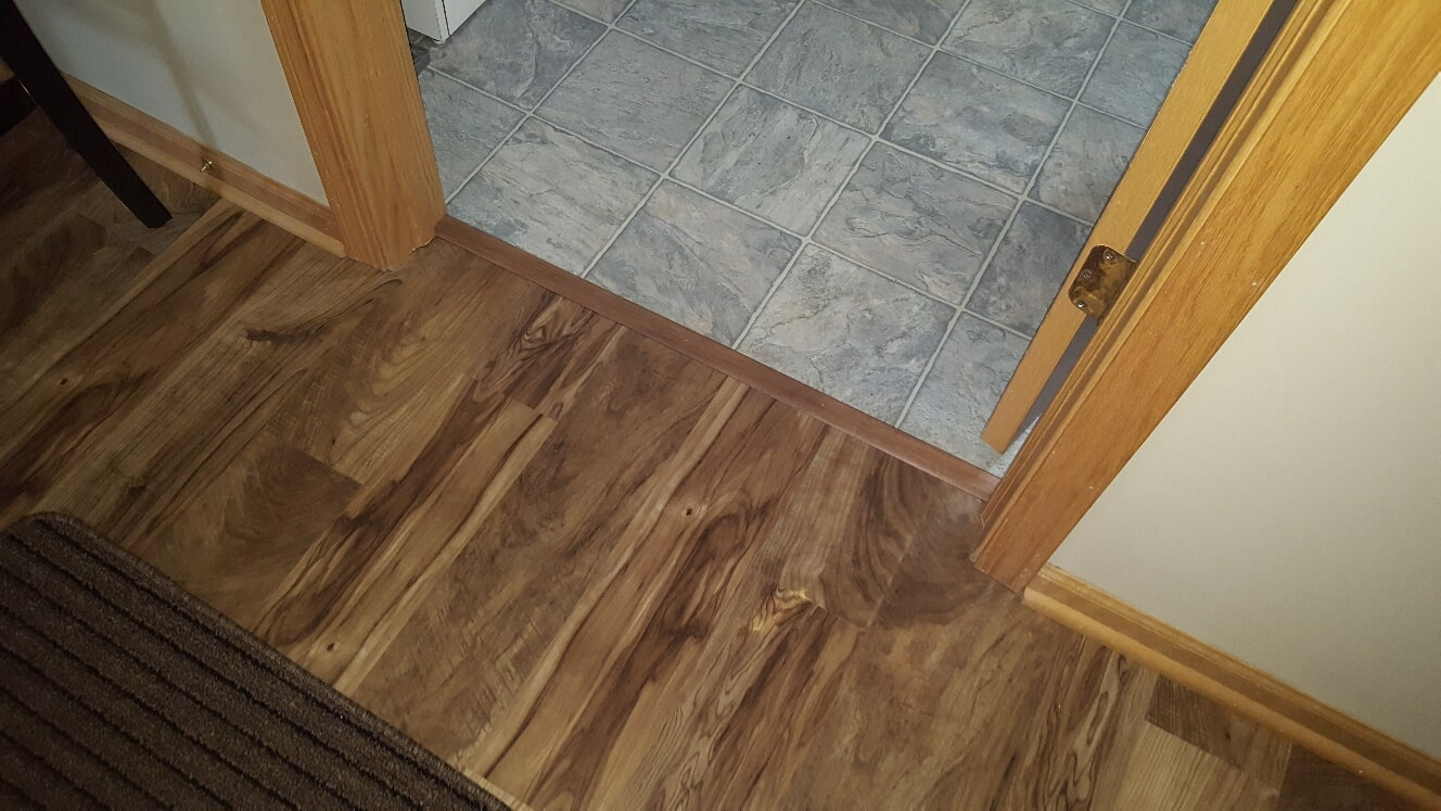 Multi-surface flooring installation in Lockport, IL from Marchio Tile & Carpet Inc.