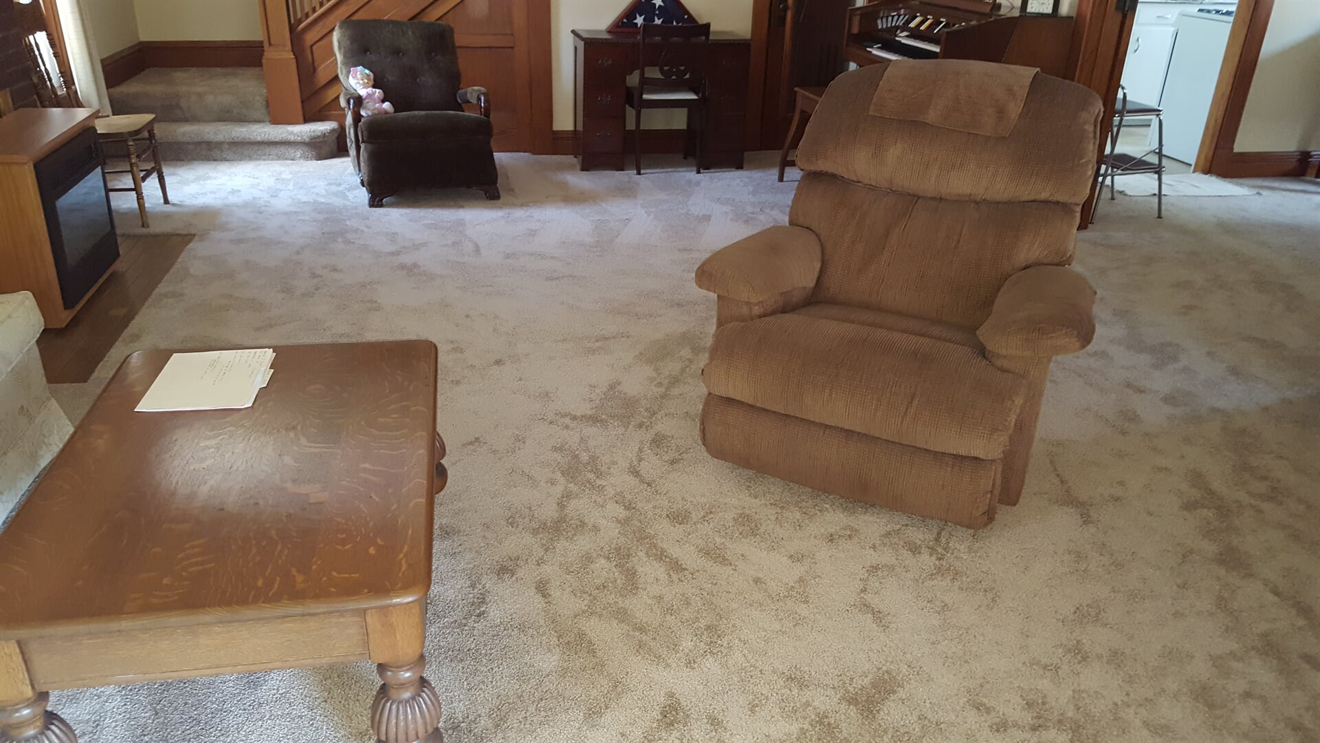 Soft living room carpet in Kankakee, IL from Marchio Tile & Carpet Inc.