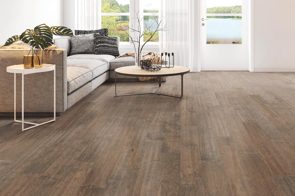 Wood floor installation in Prescott, AZ from Prescott Flooring Brokers