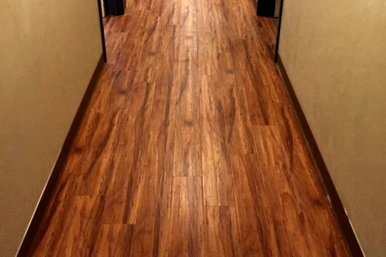 Laminate flooring with a wood look in Sedona, AZ from Prescott Flooring Brokers