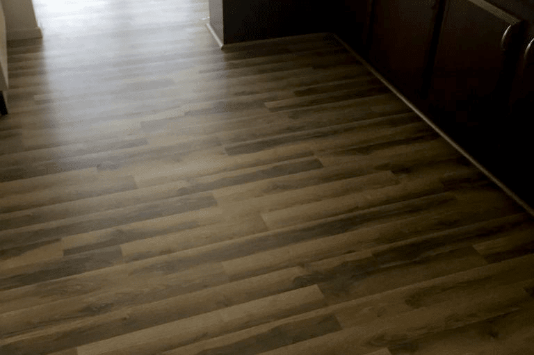 Beautiful laminate flooring install in Chino Valley, AZ from Prescott Flooring Brokers