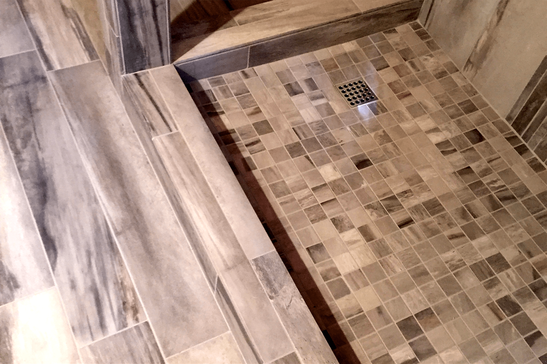 Custom tile shower in Prescott Valley, AZ from Prescott Flooring Brokers