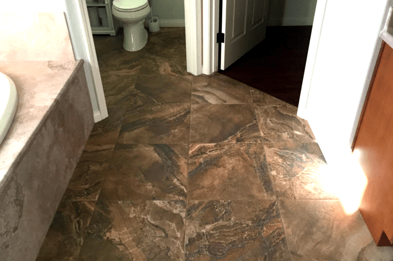 Natural stone tile flooring in Prescott, AZ from Prescott Flooring Brokers