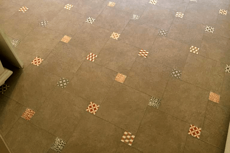 Vinyl flooring with a tile look in Dewey-Humboldt, AZ from Prescott Flooring Brokers