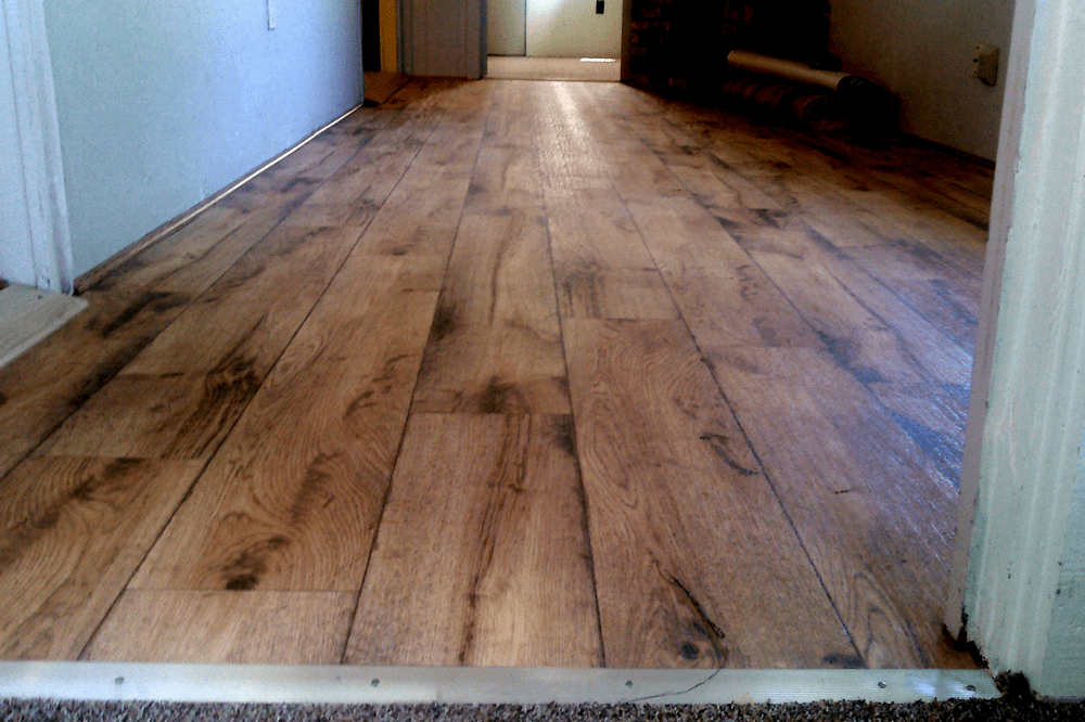 Modern wood look vinyl in Chino Valley, AZ from Prescott Flooring Brokers
