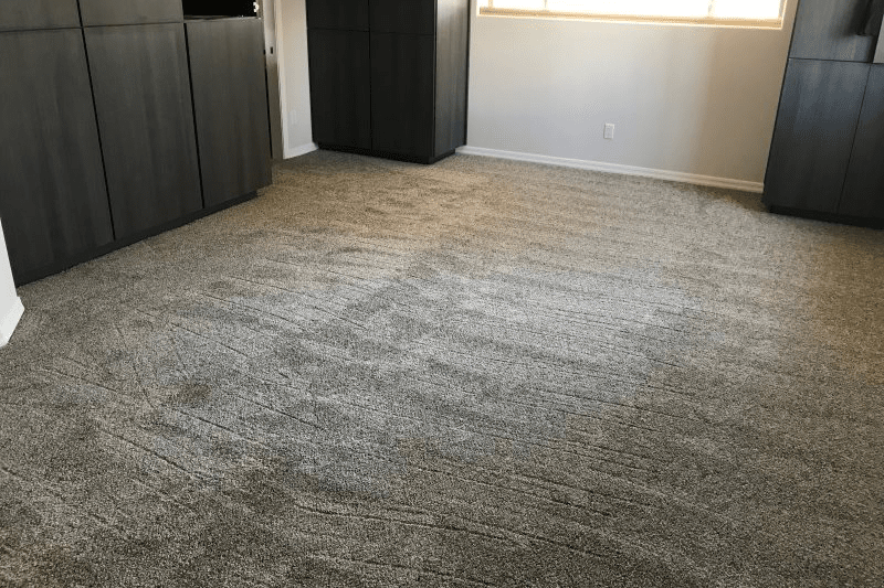 Soft gray tone carpet installation in Chino Valley, AZ from Prescott Flooring Brokers