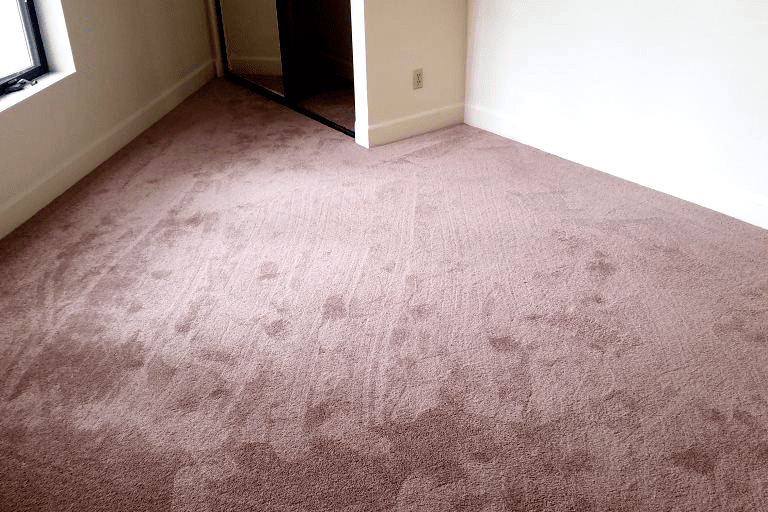 Plush pink tone carpet installation in Prescott Valley, AZ from Prescott Flooring Brokers