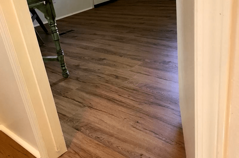 Waterproof flooring installation from Prescott Flooring Brokers in Sedona, AZ
