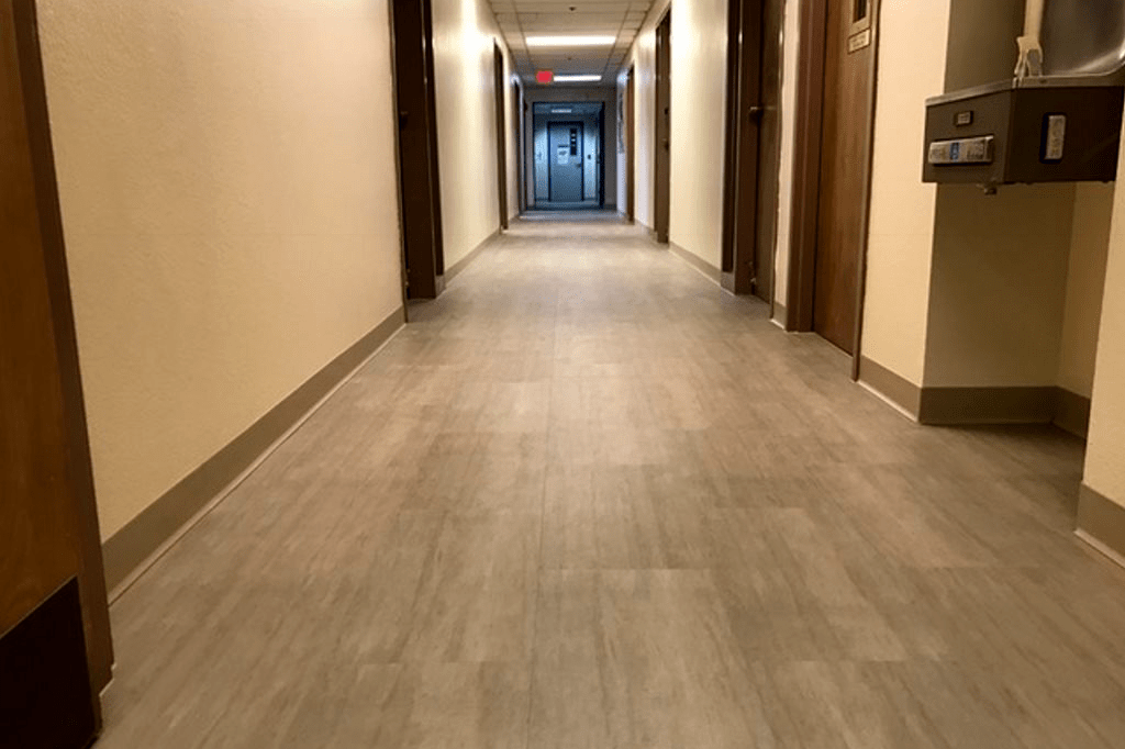 Commercial waterproof flooring installation in Prescott, AZ from Prescott Flooring Brokers