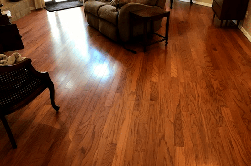 Medium tone hardwood flooring in Sedona, AZ from Prescott Flooring Brokers