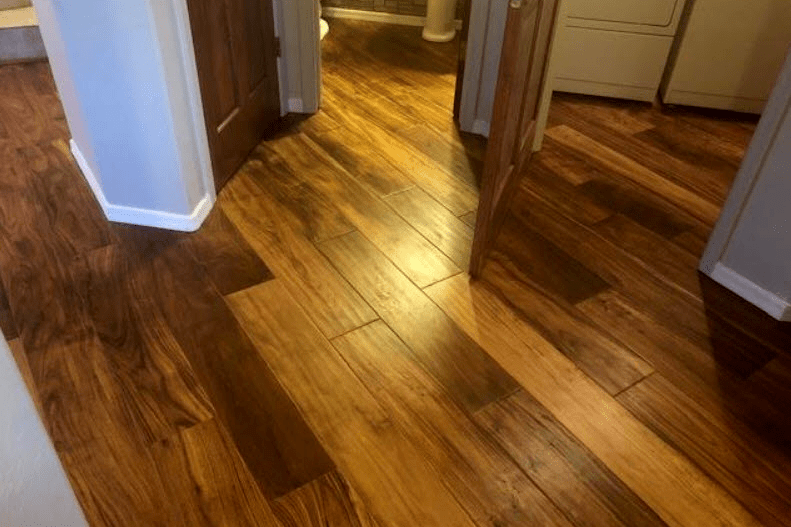 Multi-tone hardwood in Dewey-Humboldt, AZ from Prescott Flooring Brokers