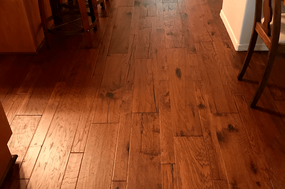 Hardwood with natural knots in Chino Valley, AZ from Prescott Flooring Brokers