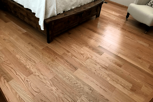 Hardwood flooring installation from Prescott Flooring Brokers in Sedona, AZ