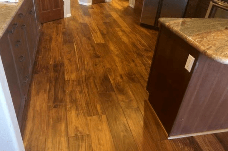Kitchen hardwood flooring in Sedona, AZ from Prescott Flooring Brokers