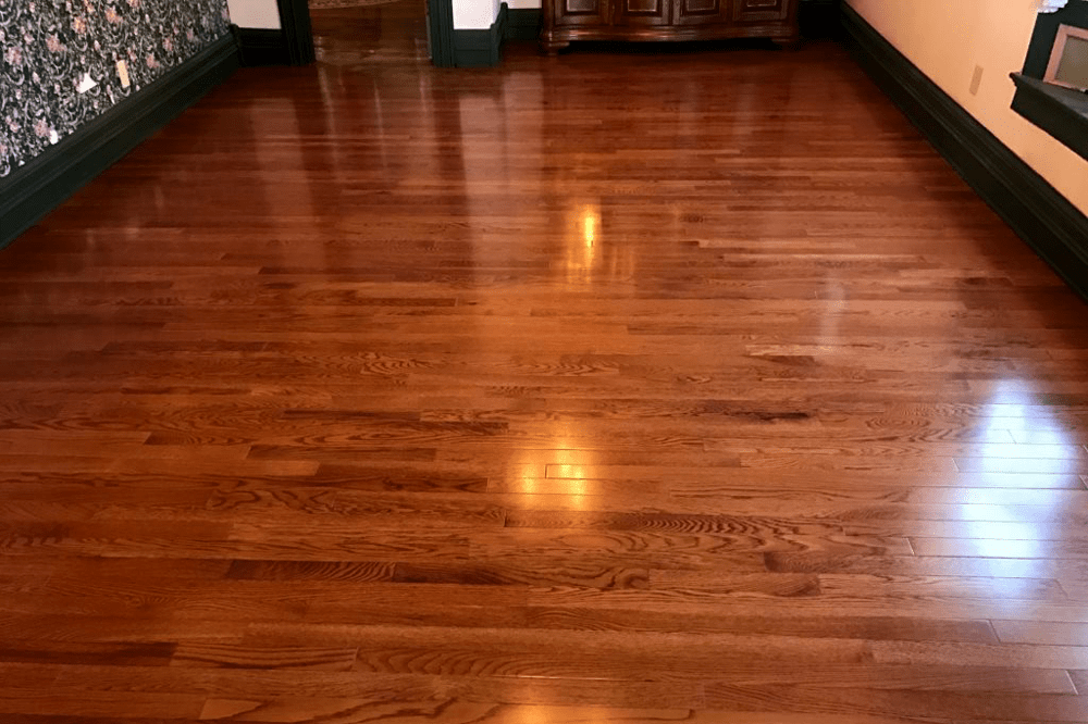 Glossy new hardwood in Prescott, AZ from Prescott Flooring Brokers