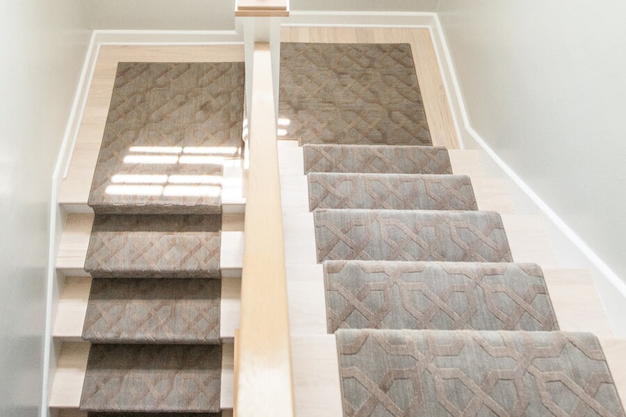 Stair runners in New Albany, OH from Six Floors Down