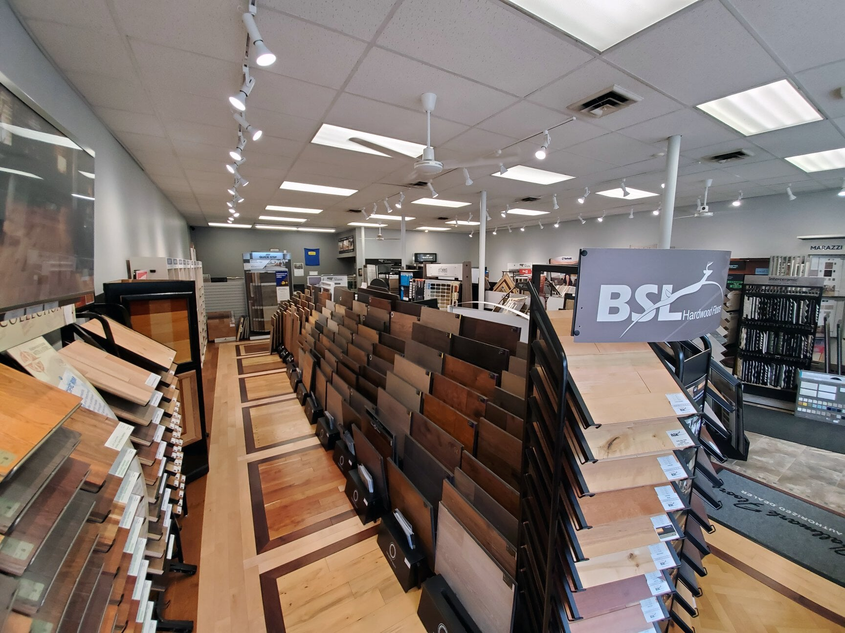 Our hardwood options for your Vernon, CT home even cover the Amazing Hardwood Floors showroom floors