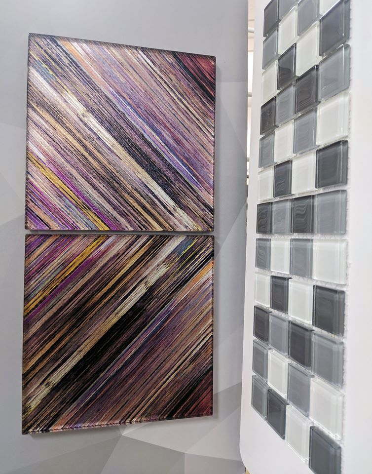 Gorgeous glass tile options at Amazing Hardwood Floors in Bolton, CT