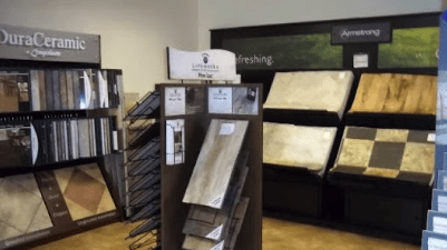 The JK Carpets showroom has everything for your Orange County, VA home