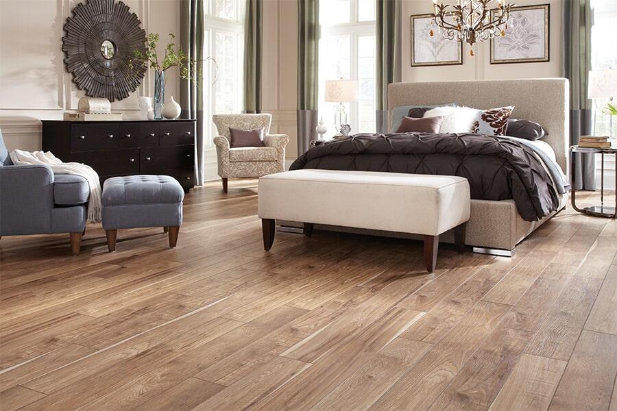 Wood look vinyl plank flooring in West Springfield, MA from American Rug