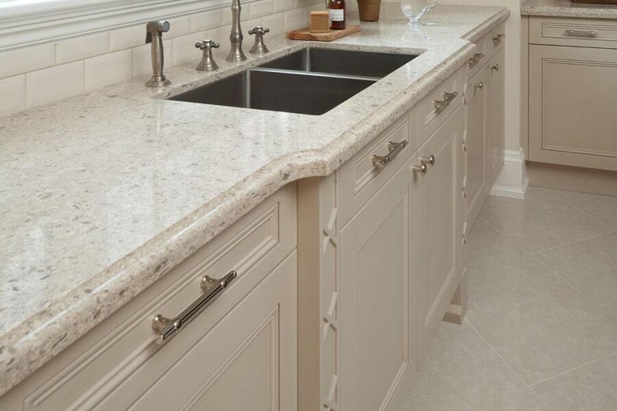 Granite countertops for living room in Gibson County TN from Premier Floor Center