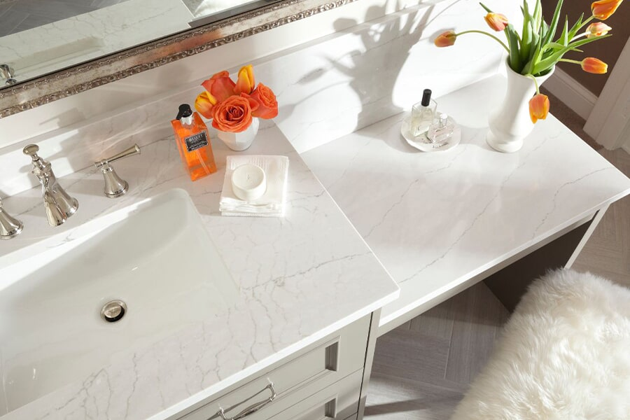 Countertops for living room in Gibson County TN from Premier Floor Center