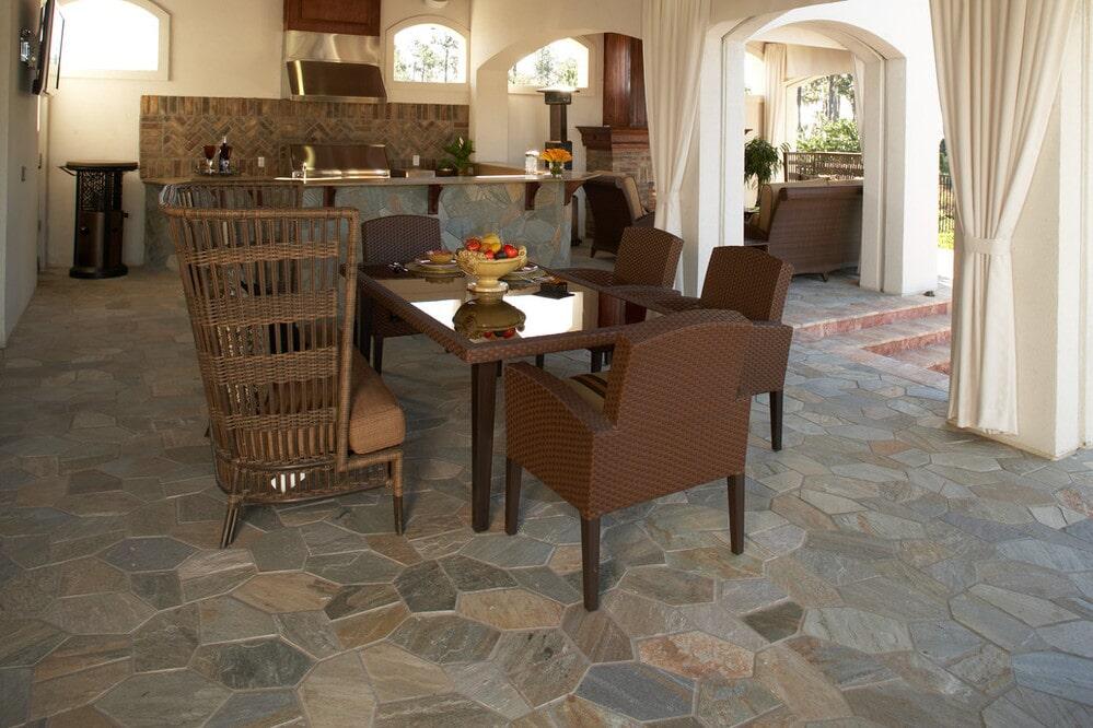 Natural stone floors in Prescott, AZ from Prescott Flooring Brokers