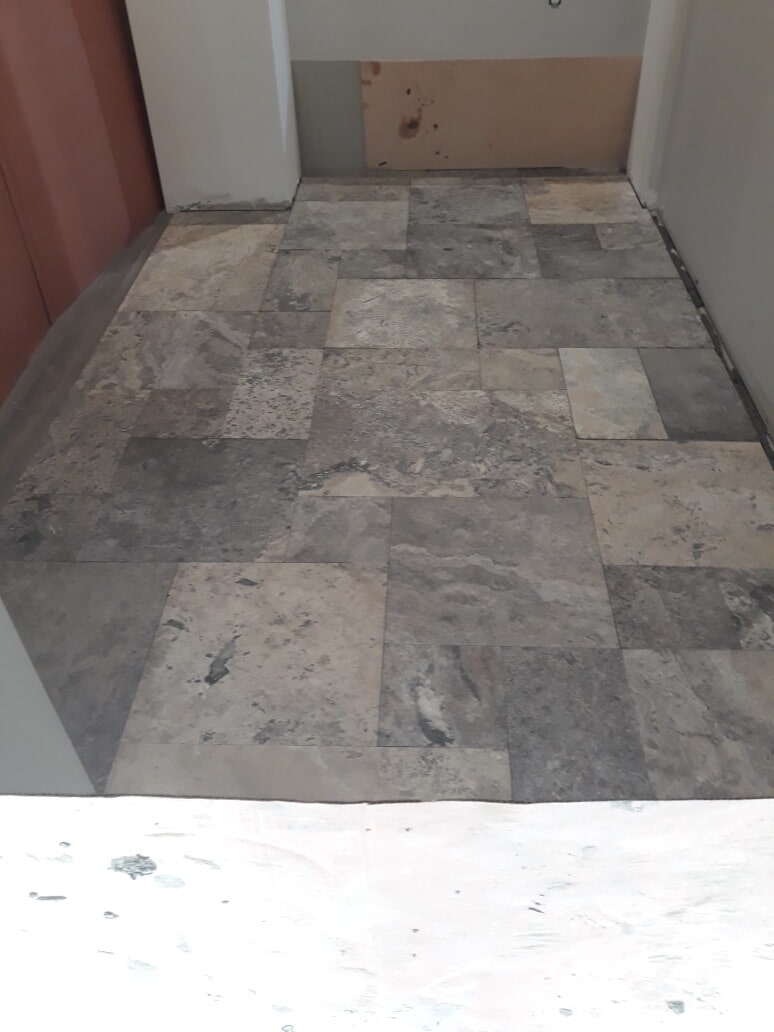 Stone flooring installation in Wethersfield, CT from Custom Floors
