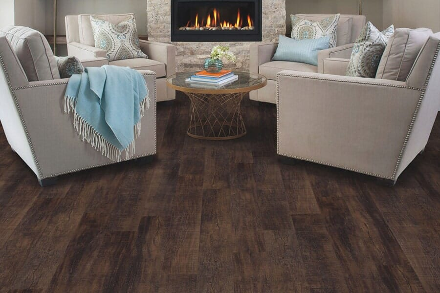 Wood look luxury vinyl plank flooring in Madison, MS from Mississippi Pro Design Center