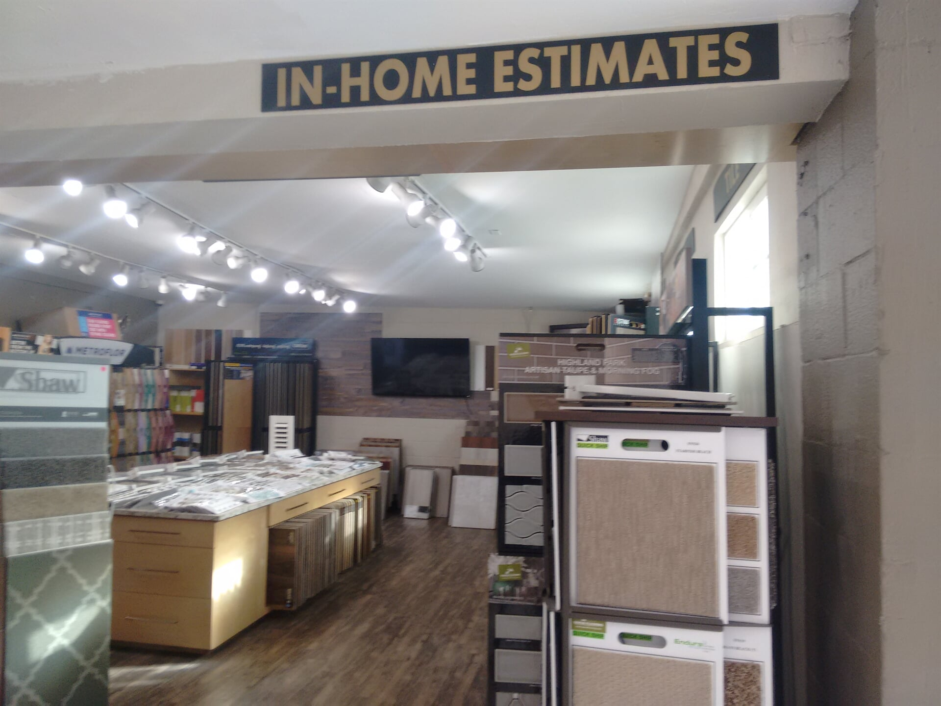 We offer in-home estimates from our professional team