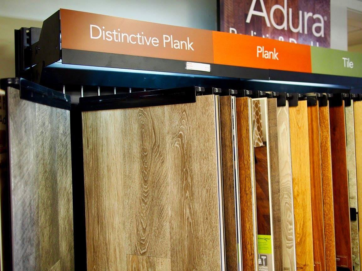 Distinctive plank, plank, and tile flooring options from Weaver's Carpet & Tile
