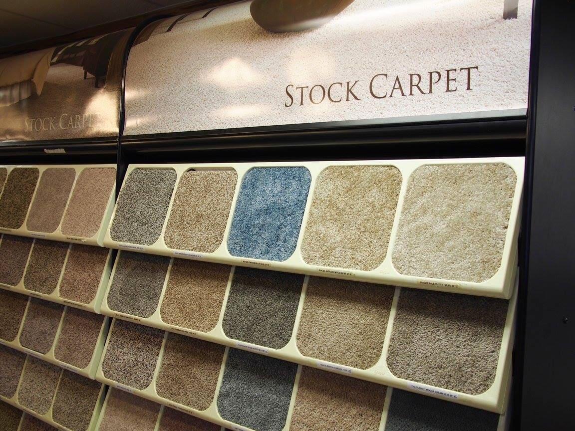 Stock carpet from Weaver's Carpet & Tile in Lebanon, PA