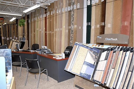 Sit down here with the professionals at Britt's Carpet Outlet and plan your design