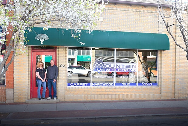 Visit the Mountain View Flooring showroom in Pueblo, CO