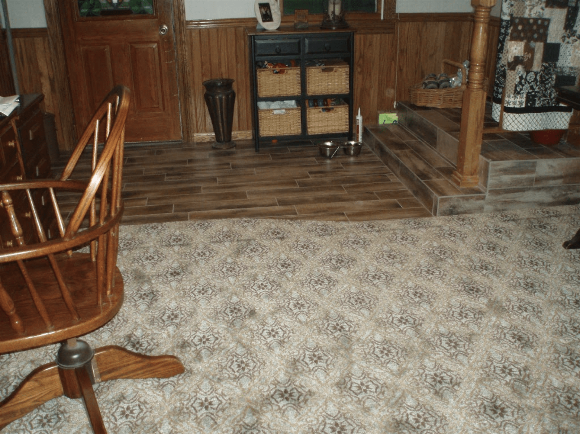 Some of the great work from Yancey's House of Carpets in Saint John, IN
