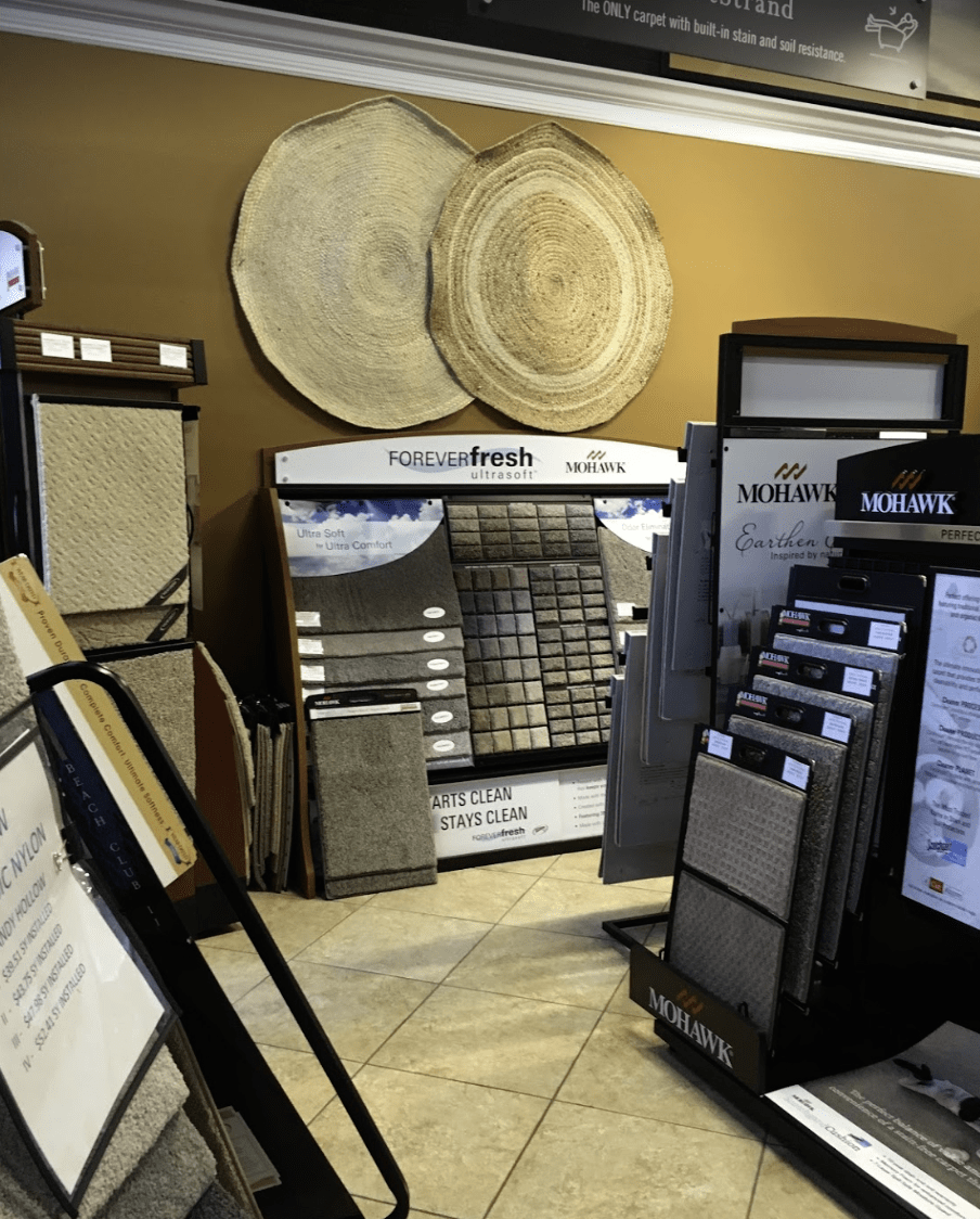 Father & Sons Carpet & Tile showroom in Vero Beach, FL