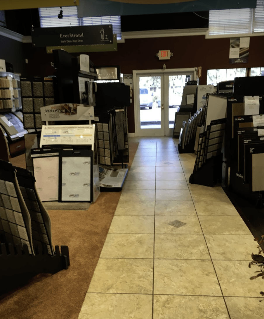 Visit the Father & Sons Carpet & Tile showroom in Sebastian, FL