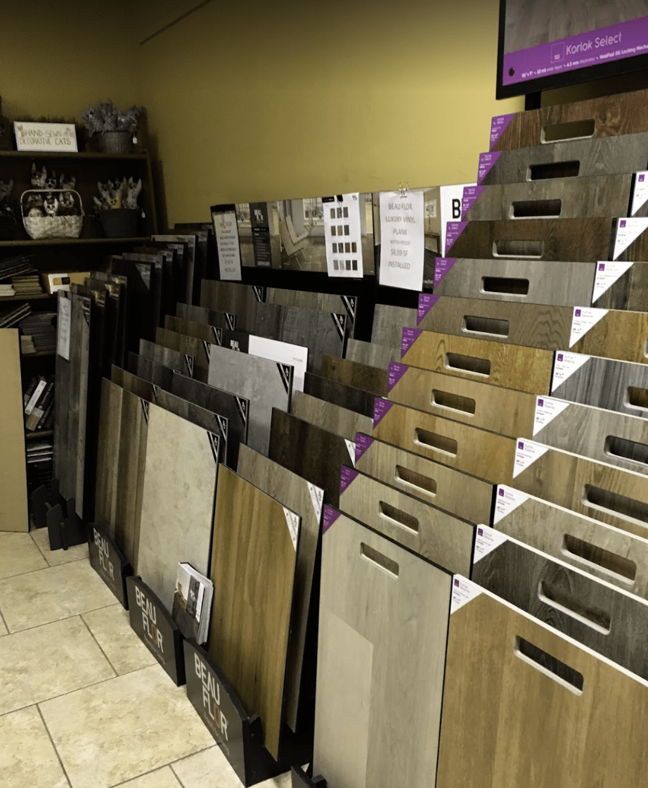 laminate flooring samples from Father & Sons Carpet & Tile in Vero Beach, FL
