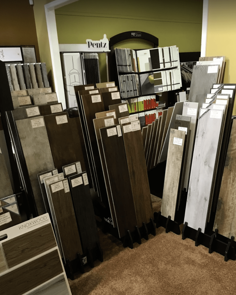 plank samples from Father & Sons Carpet & Tile in Indian River County, FL