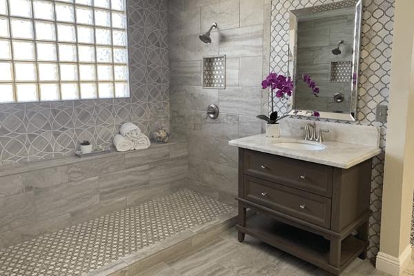 Bathroom Renovation from Stockdale Tile in Visalia, CA