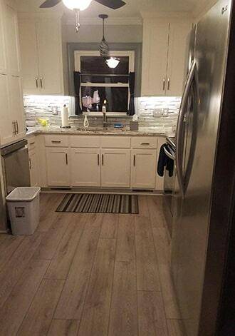 Wood look tile flooring in Lucama, NC from Richie Ballance Flooring & Tile
