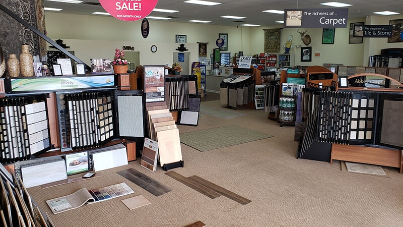 Katz Floorcovering showroom in Albany, GA