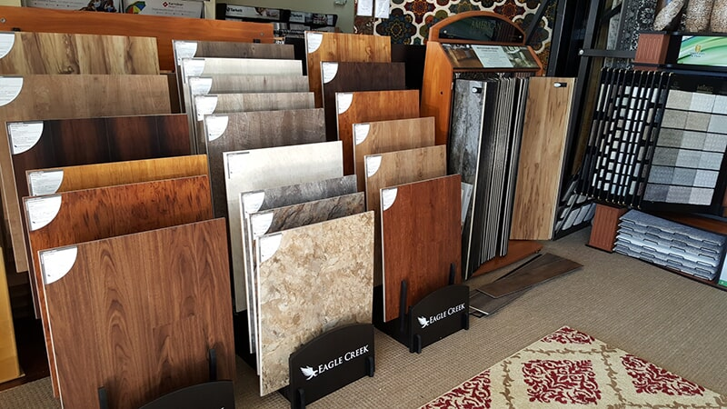 Katz Floorcovering showroom in Sylvester, GA