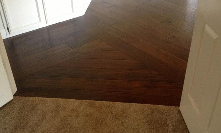 Multi surface flooring installation  from Central Valley Floor Design in Cameron Park, CA