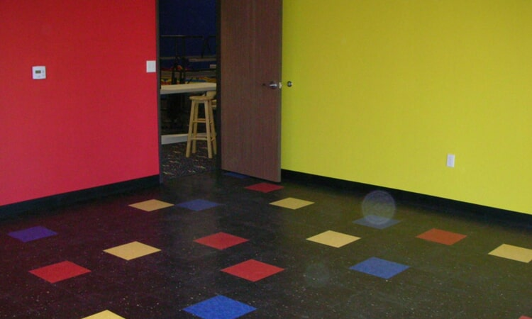 Commercial flooring installation from Central Valley Floor Design in Folsom, CA