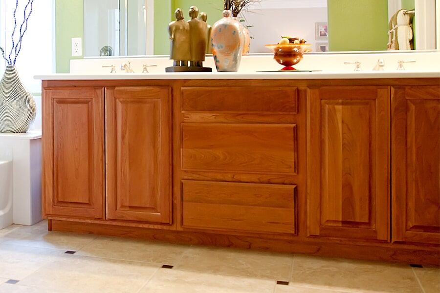Custom cabinets in Middleton, WI from Majestic Floors and More LLC