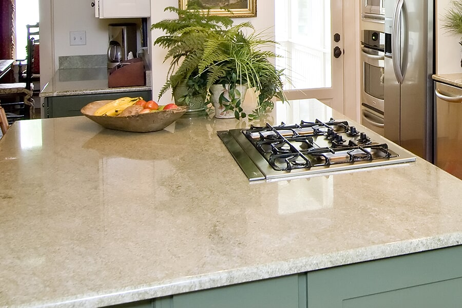 Custom countertops in Middleton, WI from Majestic Floors and More LLC